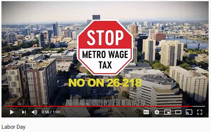 Businesses rally to fight the Metro wage tax, saying it's a job killer.
