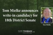 Tom Mielke announces write-in candidacy for 18th District Senate