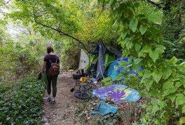 Vancouver city leaders tour Leverich Park area after neighbors complain about homeless camps