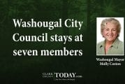 Washougal City Council stays at seven members