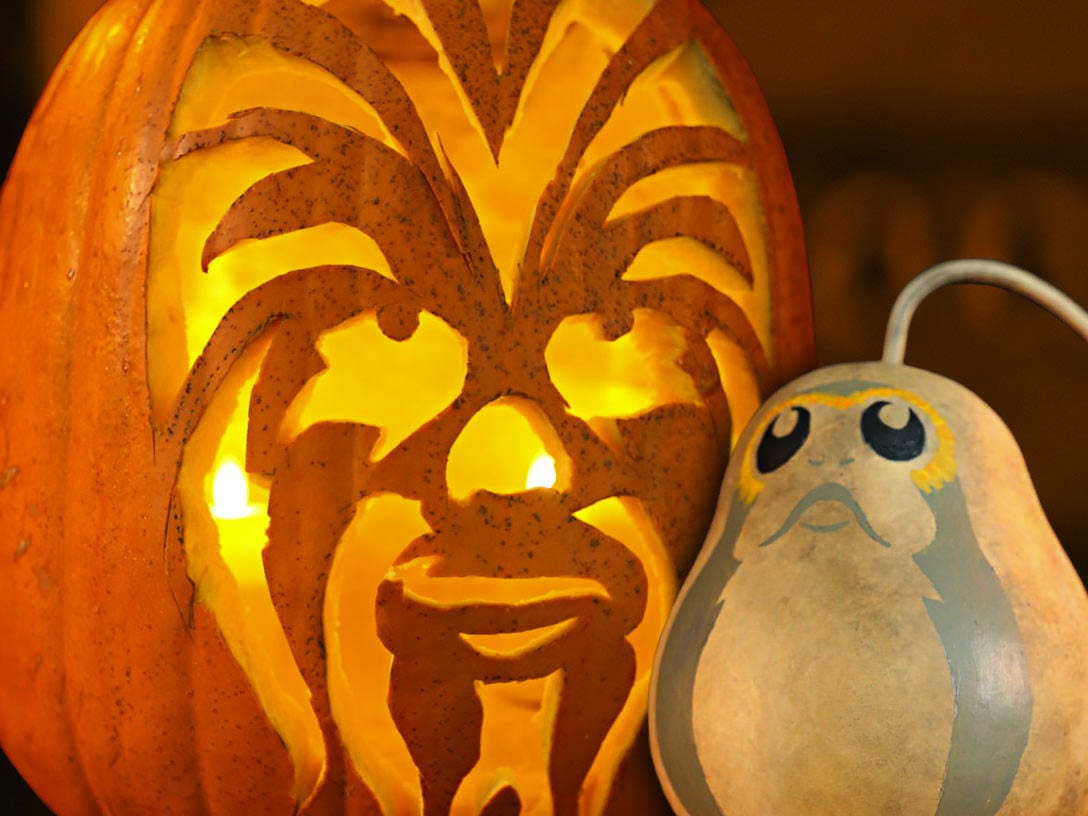 A new pumpkin or Star Wars-inspired game or activity will be posted on the Downtown Camas First Friday Facebook Page every morning and the winners from the activities throughout the week will be announced on the Facebook Live event on First Friday at 5 p.m. Photo courtesy of Downtown Camas Association
