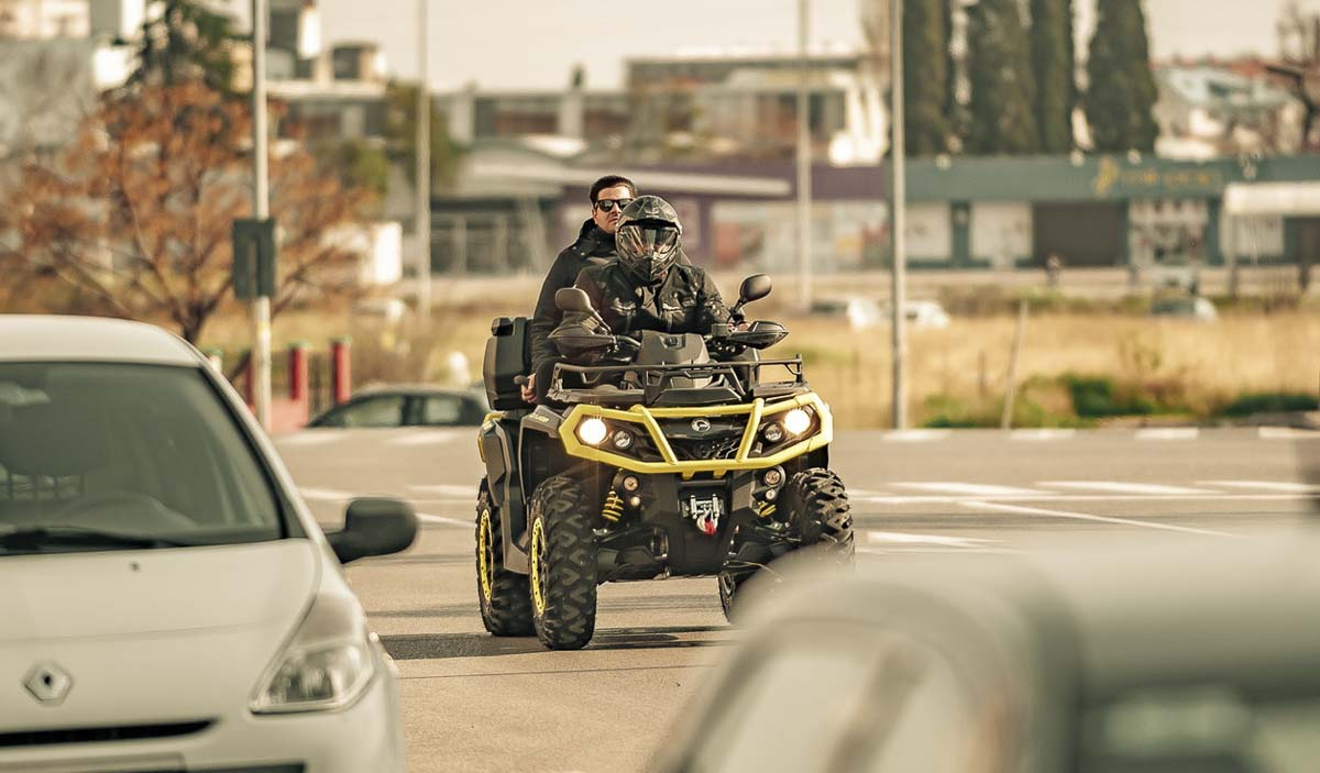 The Clark County Council has tabled a proposed rule that would have allowed ATVs on some public roads. Stock photo