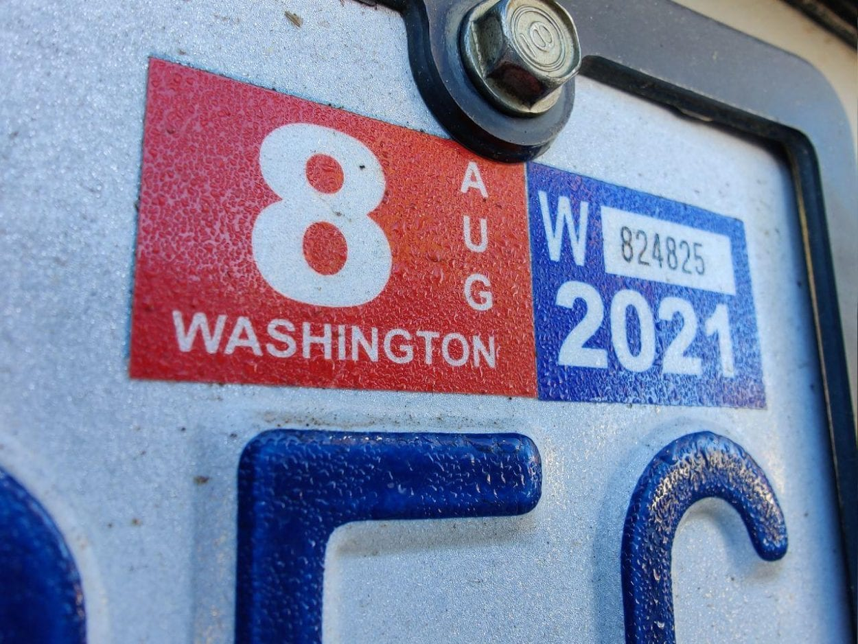 The Washington State Supreme Court overturned I-976, a 2019 voter-backed initiative that would have lowered car tab fees statewide. Photo by Chris Brown