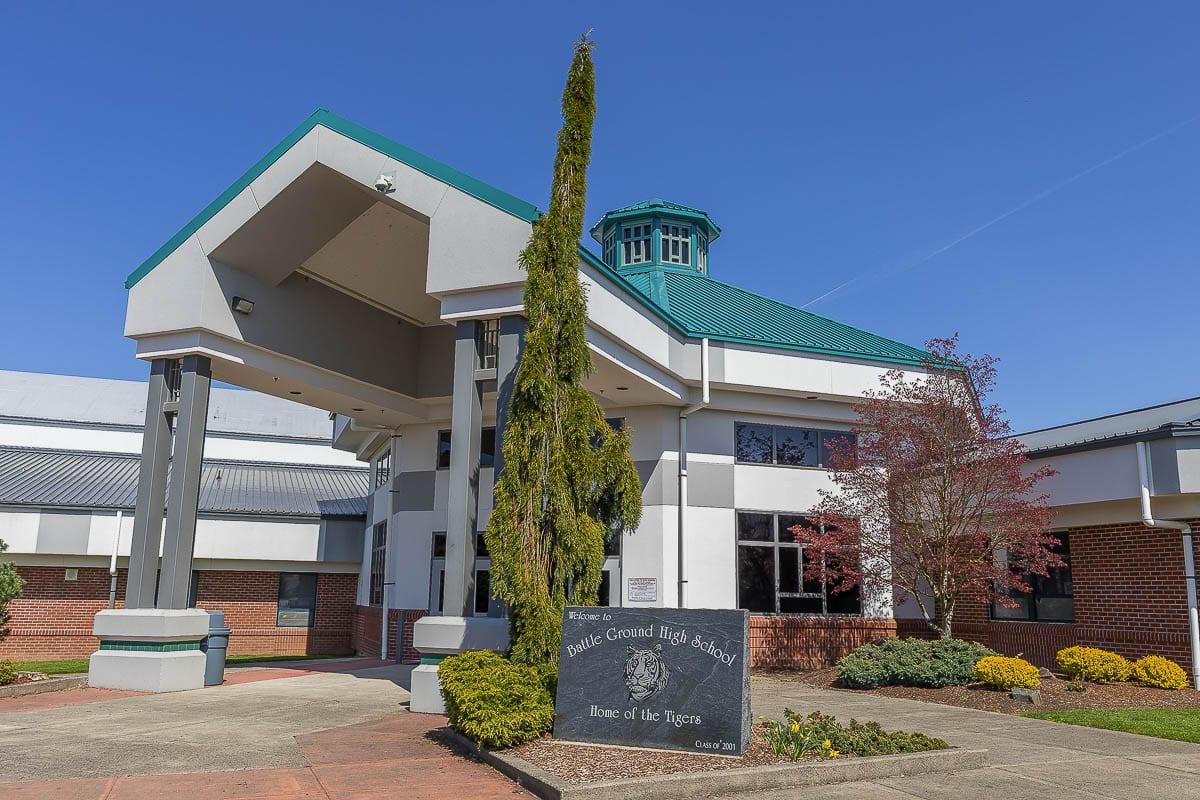 Battle Ground High School. File photo