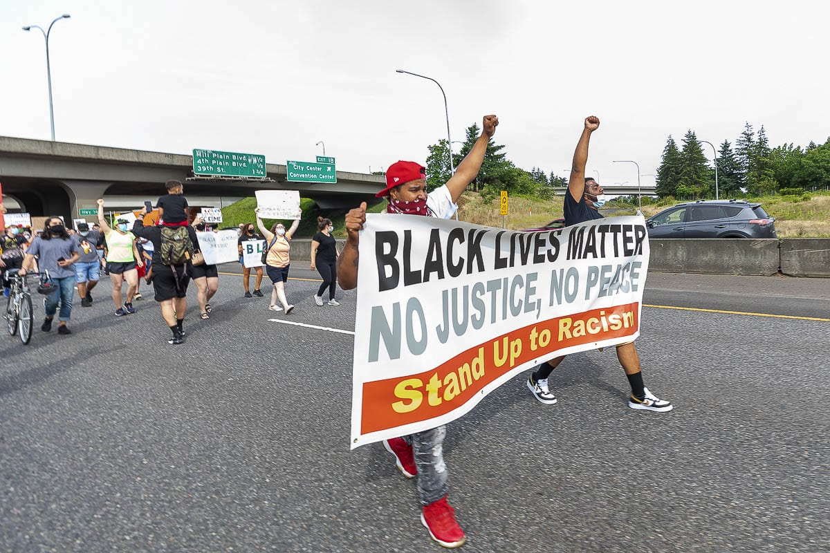 A Vancouver criminal defense who recently filed a lawsuit against the Washington State Patrol for what he believes was the facilitation of the June 19 Black Lives Matter protest that shutdown Interstate 5 has released emails that he says show WSP officers were acting on the orders of Gov. Jay Inslee. Photo by Mike Schultz
