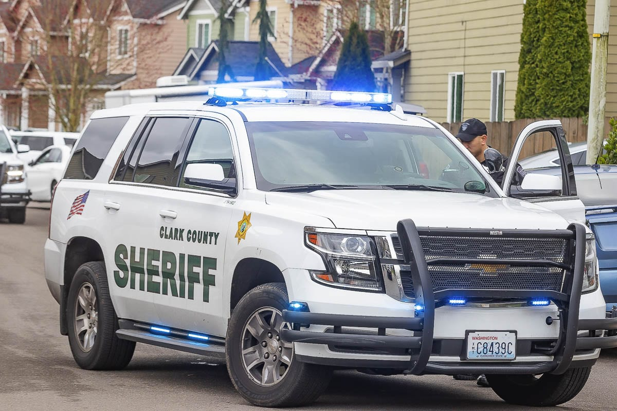 Clark County Sheriff's Office vehicle. File Photo