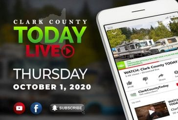 WATCH: Clark County TODAY LIVE • Thursday, October 1, 2020