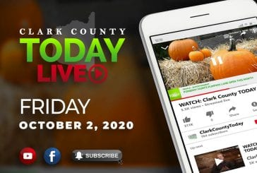WATCH: Clark County TODAY LIVE • Friday, October 2, 2020