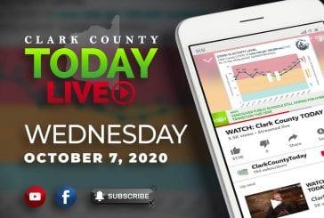 WATCH: Clark County TODAY LIVE • Wednesday, October 7, 2020