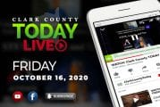 WATCH: Clark County TODAY LIVE • Friday, October 16, 2020