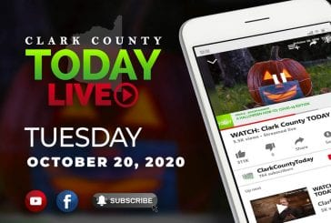 WATCH: Clark County TODAY LIVE • Tuesday, October 20, 2020