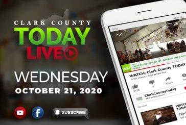 WATCH: Clark County TODAY LIVE • Wednesday, October 21, 2020