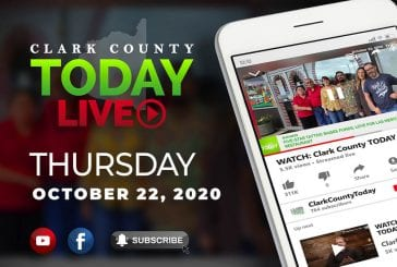 WATCH: Clark County TODAY LIVE • Thursday, October 22, 2020