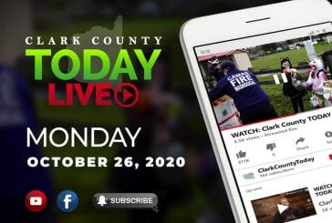 WATCH: Clark County TODAY LIVE • Monday, October 26, 2020
