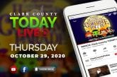 WATCH: Clark County TODAY LIVE • Thursday, October 29, 2020