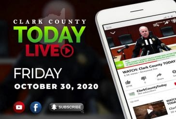 WATCH: Clark County TODAY LIVE • Friday, October 30, 2020