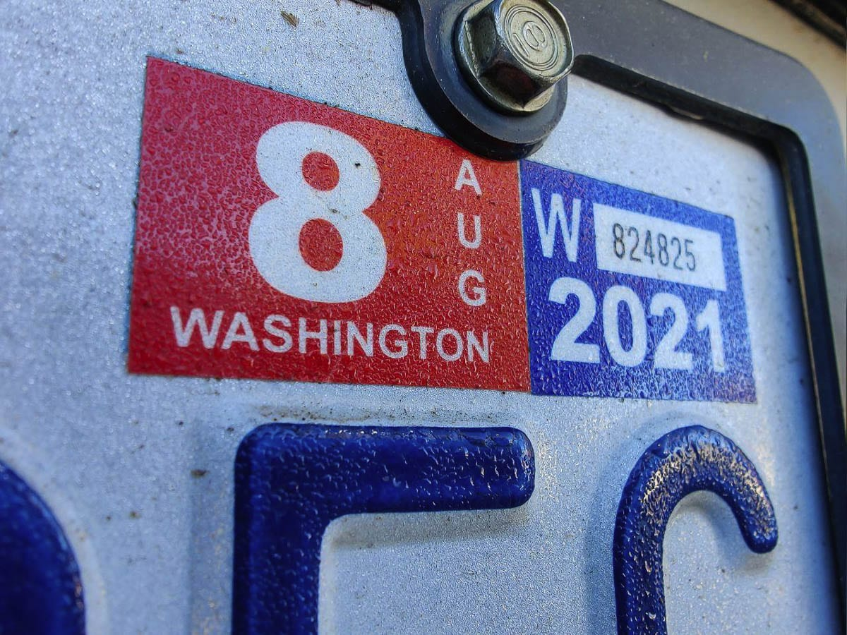 The Washington Supreme Court on Thursday overturned a voter-approved initiative that would have capped car tab fees statewide. Photo by Chris Brown