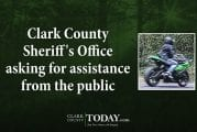 Clark County Sheriff's Office asking for assistance from the public