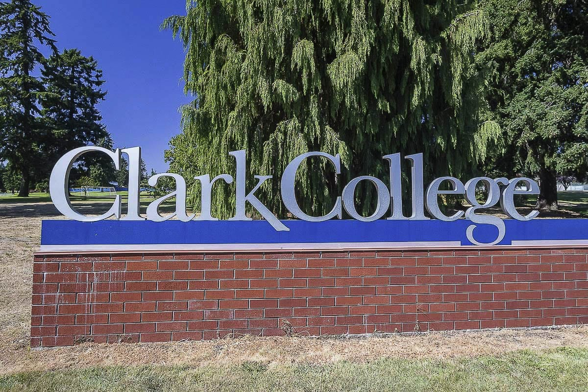 Clark College will continue online learning during its winter term. The college has experienced a 10 percent decline in enrollment, but its Running Start program is doing well and the cyber security course added a second class. File photo