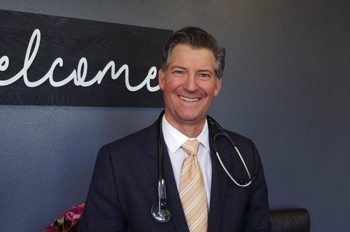 Dr. Scott Miller is a pediatrician in Washougal. He encourages patients to boost their innate immune system to protect against COVID-19. If they get the virus, they should ask their healthcare provider to prescribe known mediations early to stop viral replication. Photo by John Ley