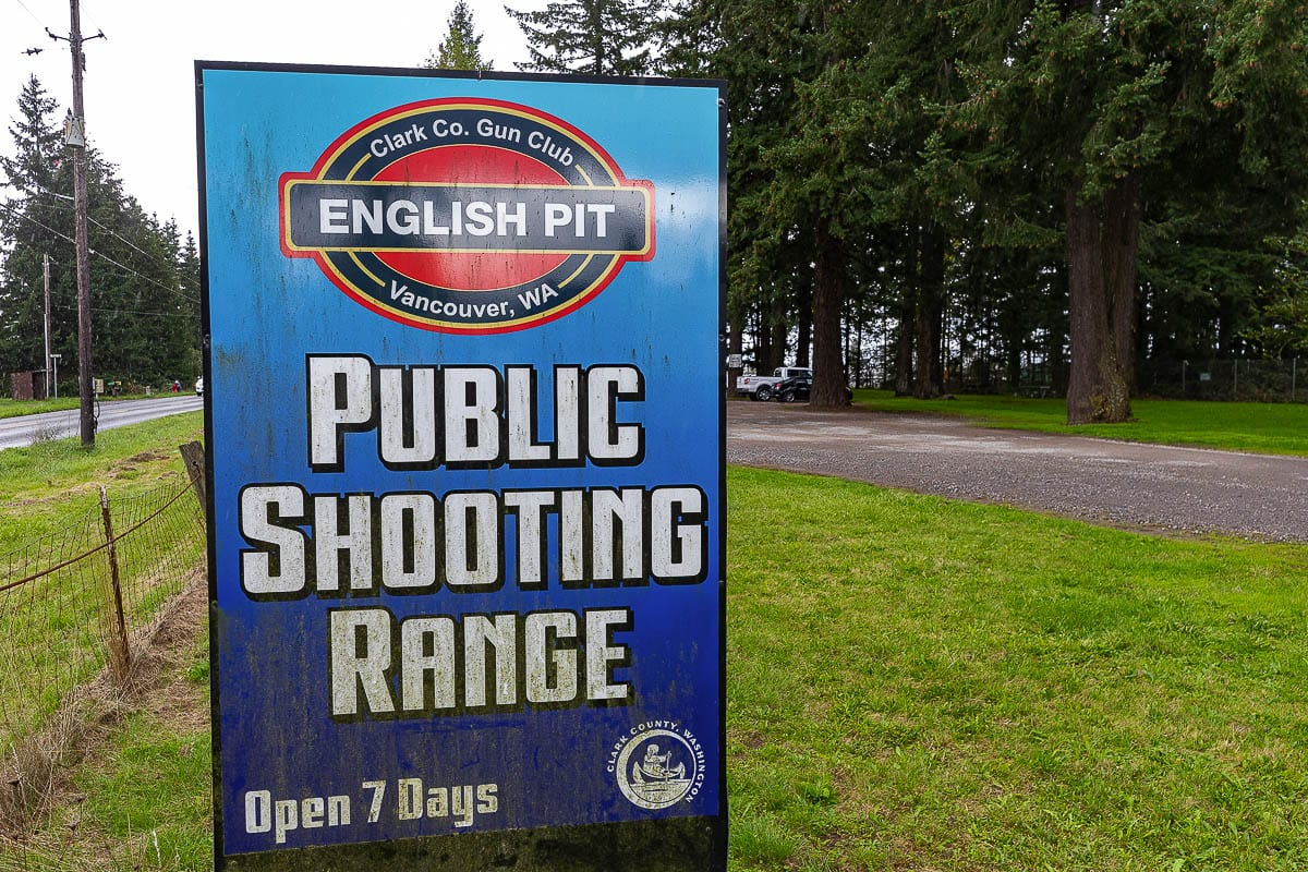 The Clark County Sheriff's Office will be moving their shooting range facility from English Pit to Camp Bonneville, effective Jan. 1. Photo by Mike Schultz