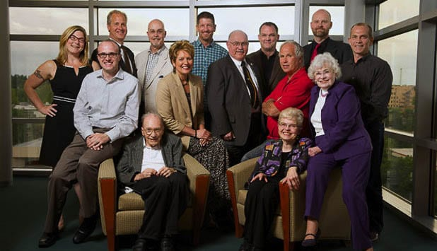 The 15 freeholders elected by citizens who created the Clark County Charter in 2015. Photo courtesy of MSRC.org.