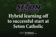 Hybrid learning off to successful start at Seton Catholic