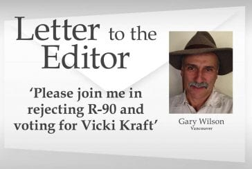 Letter: 'Please join me in rejecting R-90 and voting for Vicki Kraft'