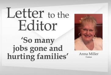 Letter: 'So many jobs gone and hurting families'