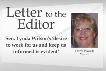 Letter: Sen. Lynda Wilson's 'desire to work for us and keep us informed is evident'