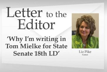 Letter: 'Why I'm writing in Tom Mielke for State Senate 18th LD'