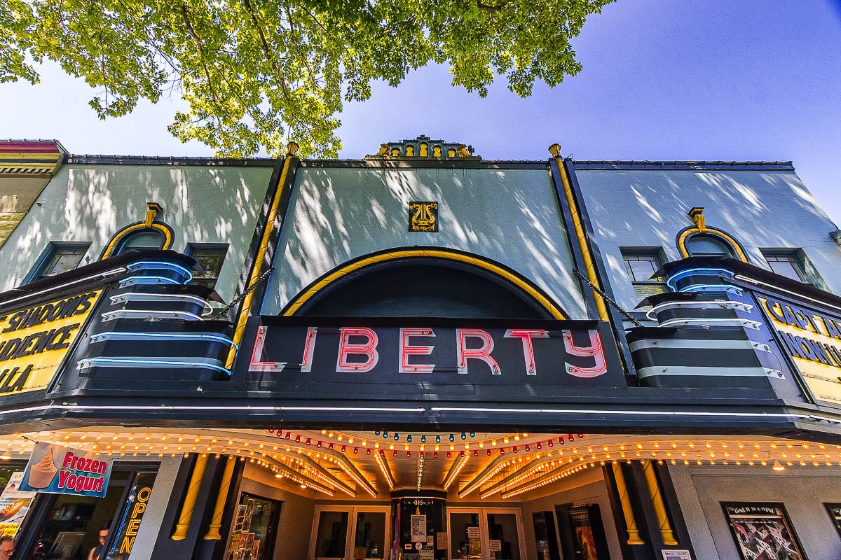 The Liberty Theater. Photo by Mike Schultz