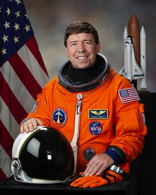 Dr. Michael Barratt, a 1977 graduate of Camas High School, is an astronaut. He was a guest speaker at an online conference with local students Thursday. Photo courtesy NASA