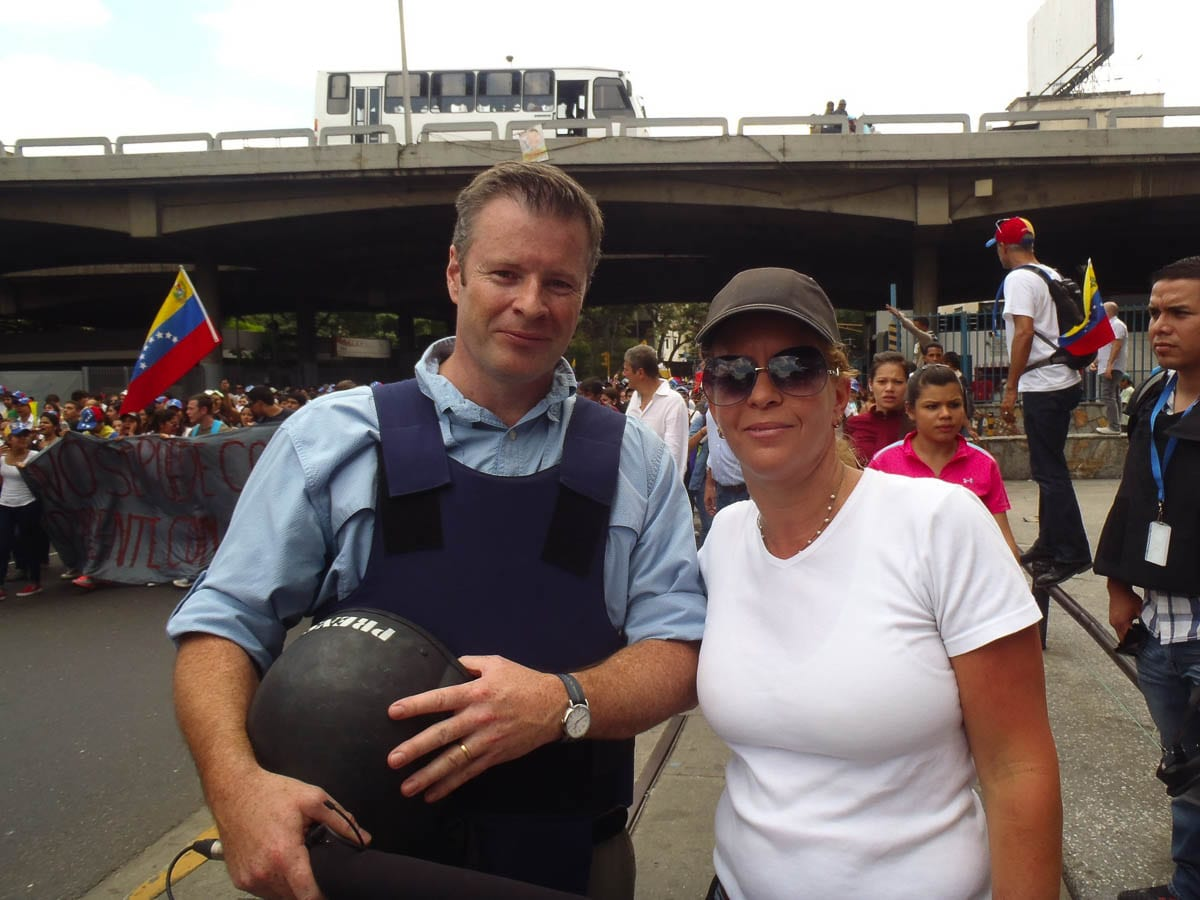 Henriette Pauchet protested daily with tens of thousands of fellow Venezuelans. She worked with opposition political candidates, after seeing the freedom and prosperity of her country taken away. Video by John Ley