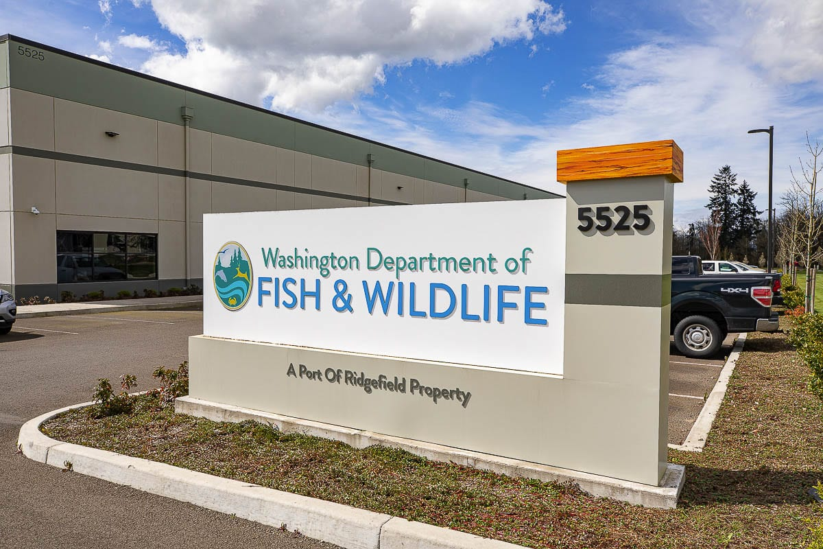 The Washington State Department of Fish and Wildlife is just one of many entities that has made the Ridgefield junction home. Photo by Mike Schultz