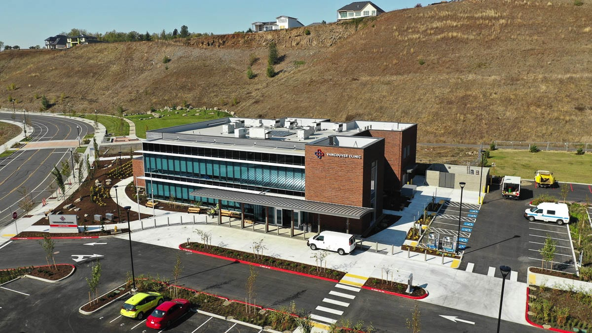 The Vancouver Clinic's 10th clinic, and first in Camas, is scheduled to open Tuesday, Oct. 20. Photo by Thomas O'Neal