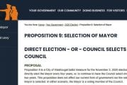 Two ballot measures before Washougal voters
