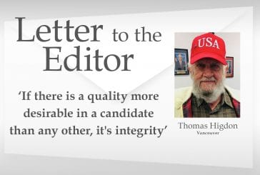 Letter: 'If there is a quality more desirable in a candidate than any other, it's integrity'