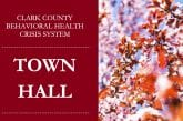 Clark County Crisis Collaborative will host town halls focused on behavioral health