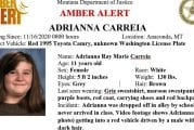 11-year-old Montana girl safely located in Vancouver after Amber Alert Monday
