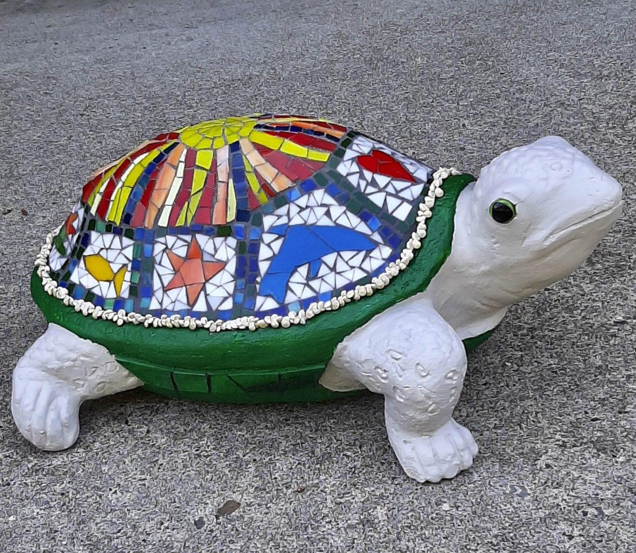 A turtle from artist Susie Guirsch. Photo courtesy of Susie Guirsch