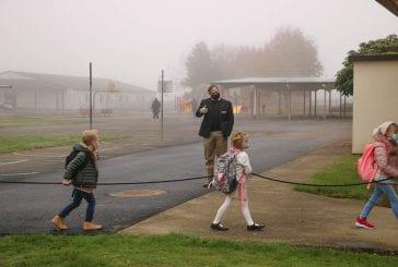 Battle Ground kindergarten students return to classrooms