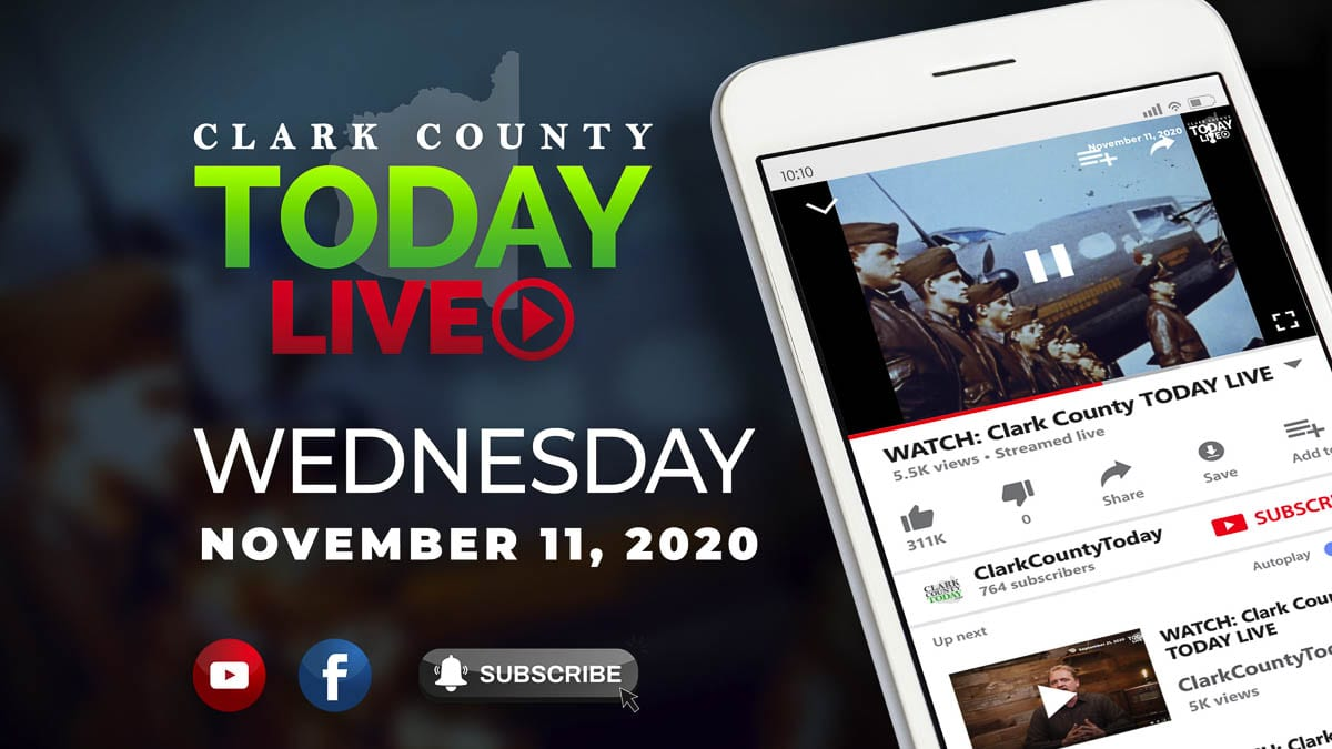 WATCH: Clark County Today Veterans Day series ; Ongoing investigation into officer involved shooting in Hazel Dell ; The new Vancouver City Council budget ; Vancouver schools furloughed employees are frustrated ; Ridgefield superintendent speaks on child well-being ; Clark County basketball athlete reaches signing day.