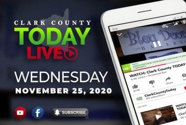 WATCH: Clark County TODAY LIVE • Wednesday, November 25, 2020