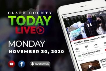 WATCH: Clark County TODAY LIVE • Monday, November 30, 2020