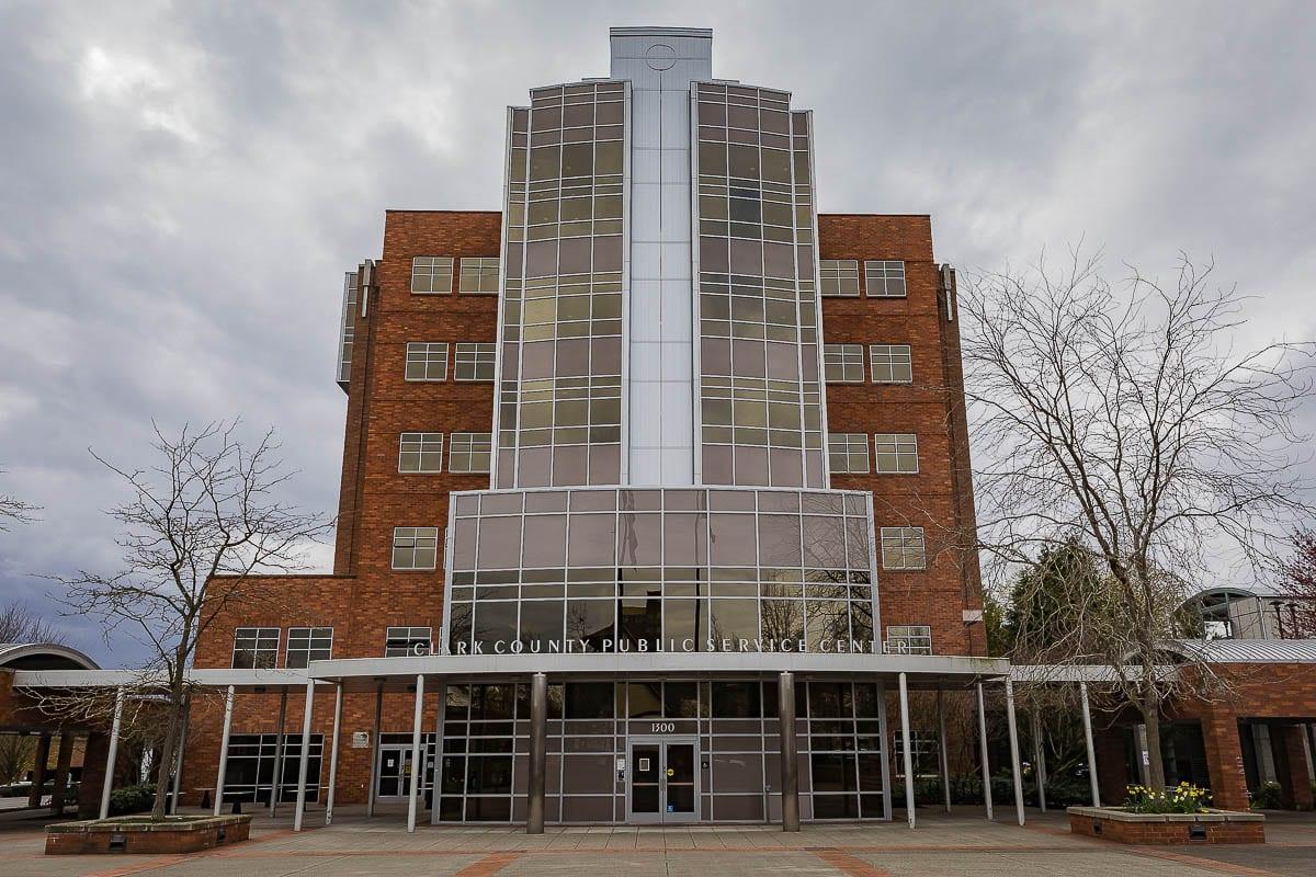The Clark County Public Service Building. File Photo