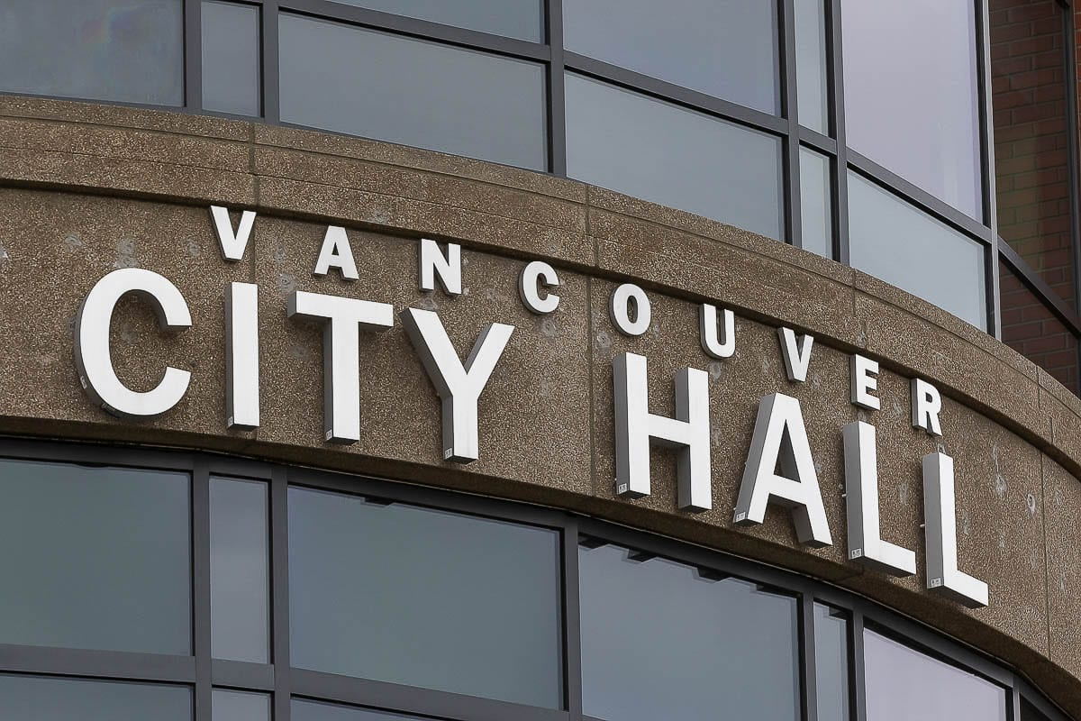 Vancouver City Hall. File photo