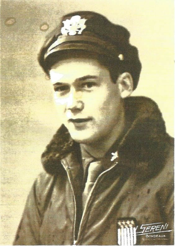 Harry Generaux at the age of 21, freshly out of flight training school for the U.S. Air Corps. Photo courtesy Harry Generaux