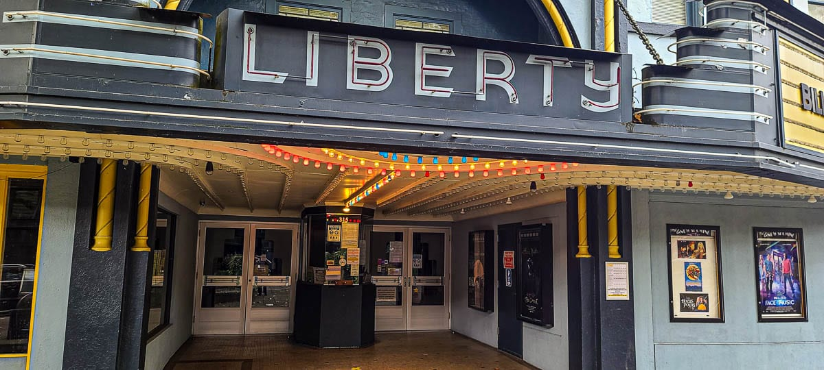 Liberty Theatre in downtown Camas. File photo