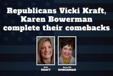 Republicans Vicki Kraft, Karen Bowerman complete their comebacks
